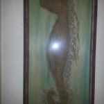 Cynthia Silverman Art  Recycled Art  Seahorse