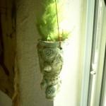 Hanging Fossil Vase